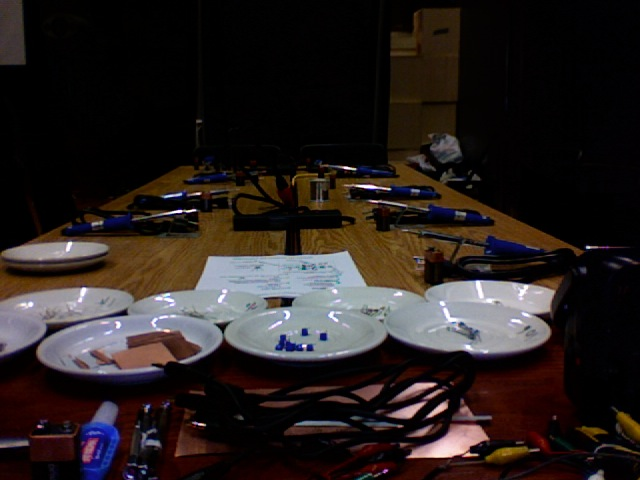 "tetsuo kogawa's ""build a low power FM transmitter"" workshop"